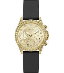 reloj guess  gemini gw0222l1 - champaña