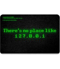 capacho ecológico there is no place like 127.0.0.1 geek10 preto