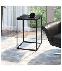 mesa lateral industrial quadrada artesano cube grande