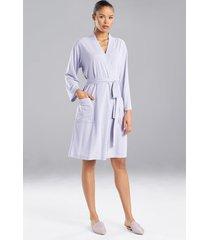 n-vious robe, women's, grey, size l, n natori