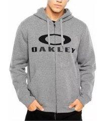 blusa canguru oakley 3.d masculino