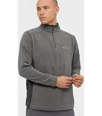 columbia klamath range ii half zip tröjor grey
