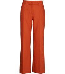 cindy manella pant wijde broek oranje bruuns bazaar
