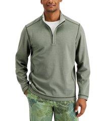 tommy bahama men's switch it up reversible 1/2-zip sweatshirt