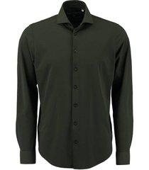 overhemd legergroen