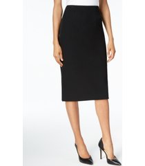 kasper petite pencil midi skirt