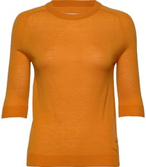day whitney t-shirts & tops knitted t-shirts/tops orange day birger et mikkelsen