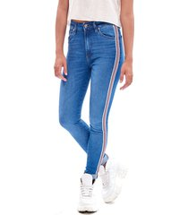 jean azul 47 street high rise deluxe