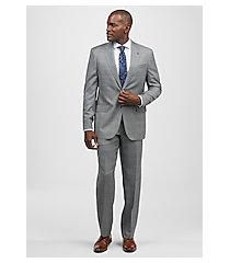 reserve collection tailored fit plaid liberty men's suit - big & tall by jos. a. bank