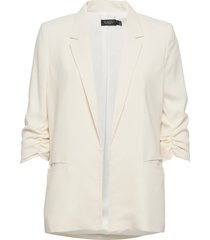 slshirley blazer blazer colbert crème soaked in luxury