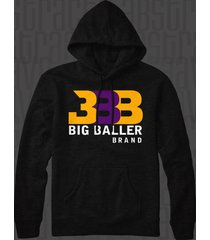 big baller brand bbb zo2 la lakers sho'time pullover hoodie
