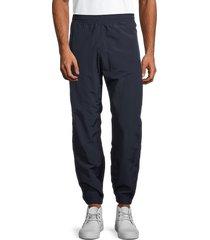 champion men's water-repellent nylon pants - navy - size xl