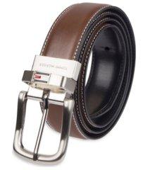 tommy hilfiger leather reversible dress men's belt