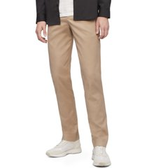 calvin klein men's slim-fit modern stretch chino