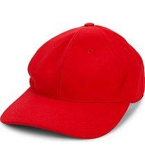 curved-brim baseball cap