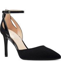 zapato elyssie negro mujer nine west