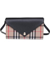 burberry burberry vintage check wallet