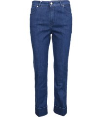 fay cotton 5 pockets trousers