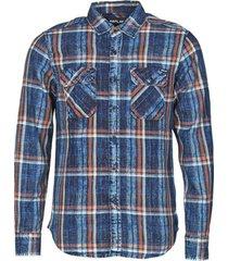 overhemd lange mouw replay m4033