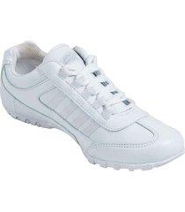 zapatos lineablanca aeroflex blanco unicolor kd1878