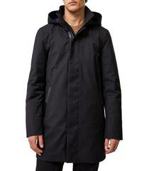 men's mackage thorin nordic tech 2-in-1 jacket, size 40 - black