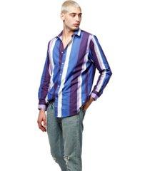 artistix multi stripe poplin shirt