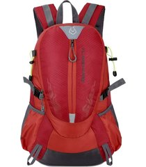 mochila/ impermeable amantes al aire libre mountaineer-rojo