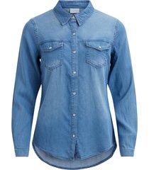 denim blouse vibista -