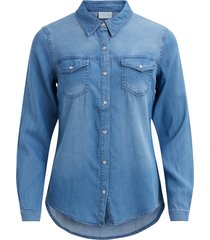 denim blouse vibista -