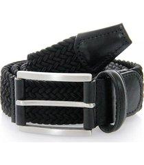 anderson belts woven belt | black | 0667-ne37
