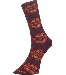 pendleton maroon chief joseph socks gx050-856429