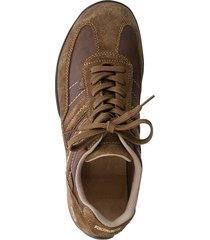 skor av nubuck och mocka dockers brun