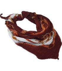 pañuelo marrón nuevas historias  plisado estribos ba1167bis-16