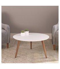 mesa de centro redonda valentinna artesano 24601 70cm pés palito