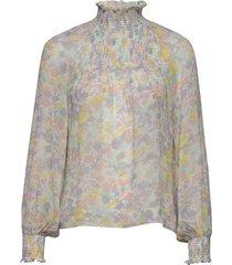 hayden blouse blus långärmad multi/mönstrad inwear