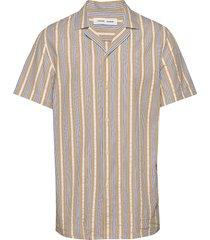 einar sx shirt 11390 overhemd met korte mouwen beige samsøe samsøe