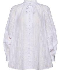 arissa blouse lange mouwen paars hofmann copenhagen