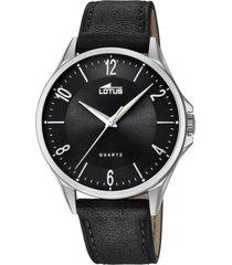 reloj classic negro lotus