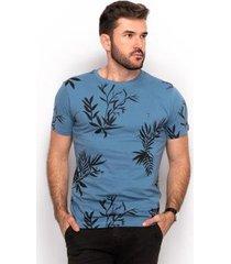 camiseta algodão teodoro masculino slim dia a dia conforto - masculino
