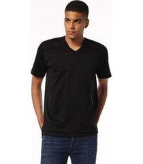 camiseta diesel t-eric   masculina preto