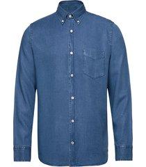 levon bd 5767 overhemd casual blauw nn07