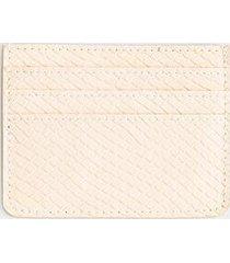 zoey card case - beige