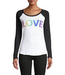 love raglan baseball t-shirt