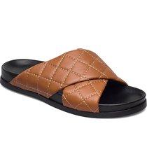 tumeric shoes summer shoes flat sandals brun munthe