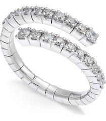 diamond wrap ring (5/8 ct. t.w.) in 14k white gold
