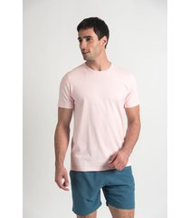 remera rosa oxford polo club sunset