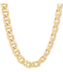 "mariner link 24"" chain necklace in 18k gold-plated sterling silver"