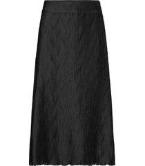 ella wave skirt lång kjol svart twist & tango