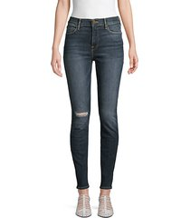 le high rise skinny jeans