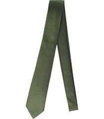 gravata alfaiataria burguesia jacquard 1260 fios verde - verde - masculino - dafiti